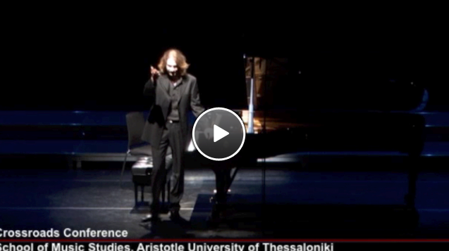 Concert videos | Crossroads | Greece as an intercultural ... Theodore Tzovanakis
